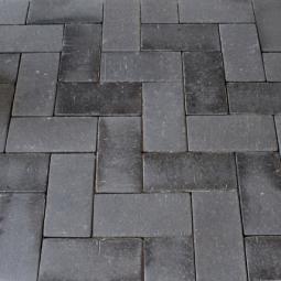 Тротуарный клинкерный кирпич Muhr Nr. 15 Schwarz-bunt Edelglanz