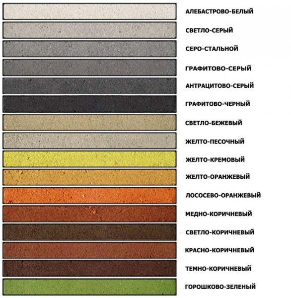 Картинки цветных кладочных растворов Quick-mix